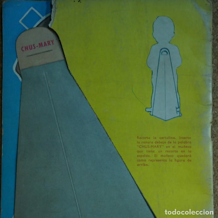 Coleccionismo Recortables: Gran muñeco colegial, Lito Barcelona, vestidos/trajes recortables troquelado - Foto 18 - 167490356