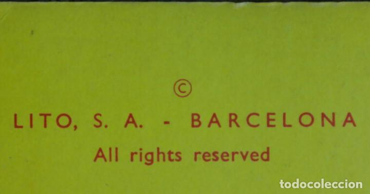 Coleccionismo Recortables: Gran muñeco colegial, Lito Barcelona, vestidos/trajes recortables troquelado - Foto 20 - 167490356
