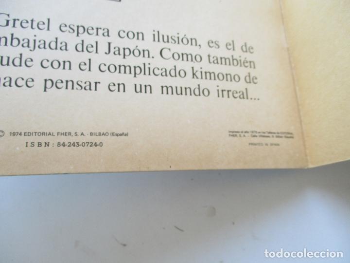 Coleccionismo Recortables: CUENTOS FHER- LOS VESTIDOS DE GRETEL, LA PEQUEÑA HOLANDESA, Nº. 4.- MIDE 33.5 X 24 CM.- 4 HOJAS - Foto 3 - 168464440