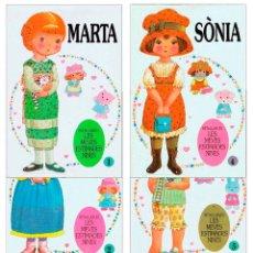 Coleccionismo Recortables: MUÑECAS RECORTABLES LES MEVES ESTIMADES NINES 43252. COMPLETA. (NO ACREDITADO) BRUGUERA, 1985. OFRT. Lote 279411148