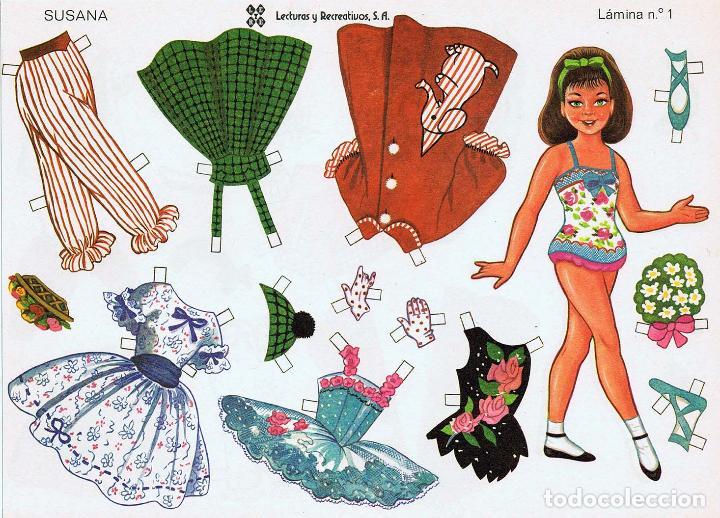 Coleccionismo Recortables: MUÑECAS RECORTABLES LEYRE 1 A 10. COMPLETA (No Acreditado) LEYRE, 1980. OFRT - Foto 8 - 266830074