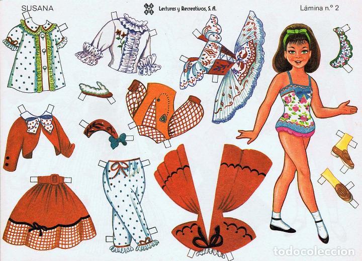 Coleccionismo Recortables: MUÑECAS RECORTABLES LEYRE 1 A 10. COMPLETA (No Acreditado) LEYRE, 1980. OFRT - Foto 9 - 266830074
