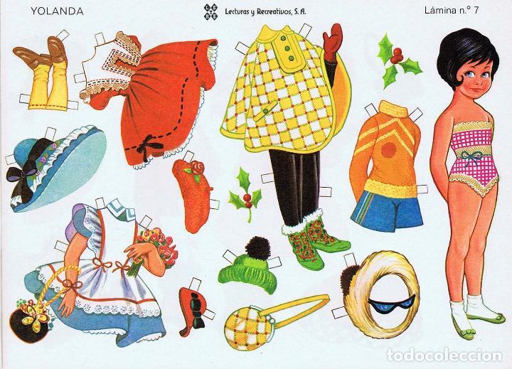 Coleccionismo Recortables: MUÑECAS RECORTABLES LEYRE 1 A 10. COMPLETA (No Acreditado) LEYRE, 1980. OFRT - Foto 4 - 266830074