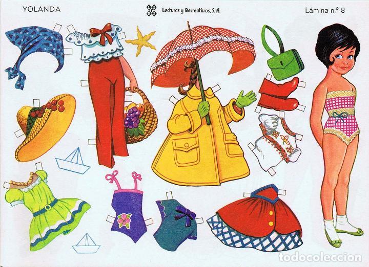 Coleccionismo Recortables: MUÑECAS RECORTABLES LEYRE 1 A 10. COMPLETA (No Acreditado) LEYRE, 1980. OFRT - Foto 5 - 266830074