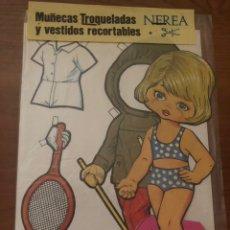 Coleccionismo Recortables: MUÑECA RECORTABLE NEREA. Lote 170174750