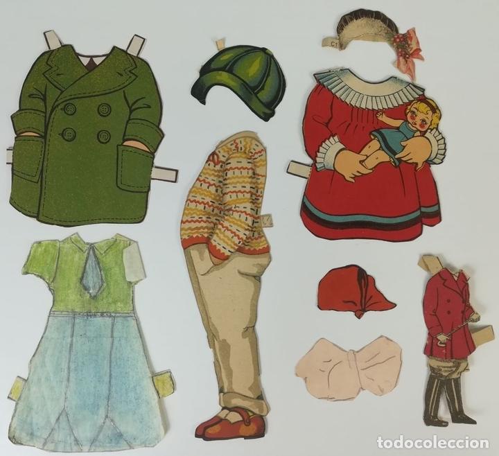 Coleccionismo Recortables: 19 FIGURAS. COLECCIÓN DE RECORTABLES DE MUÑECAS. (CIRCA 1960) ESPAÑA - Foto 26 - 170491664