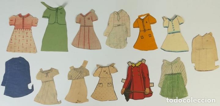 Coleccionismo Recortables: 19 FIGURAS. COLECCIÓN DE RECORTABLES DE MUÑECAS. (CIRCA 1960) ESPAÑA - Foto 30 - 170491664