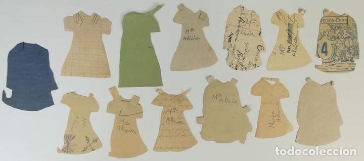 Coleccionismo Recortables: 19 FIGURAS. COLECCIÓN DE RECORTABLES DE MUÑECAS. (CIRCA 1960) ESPAÑA - Foto 31 - 170491664