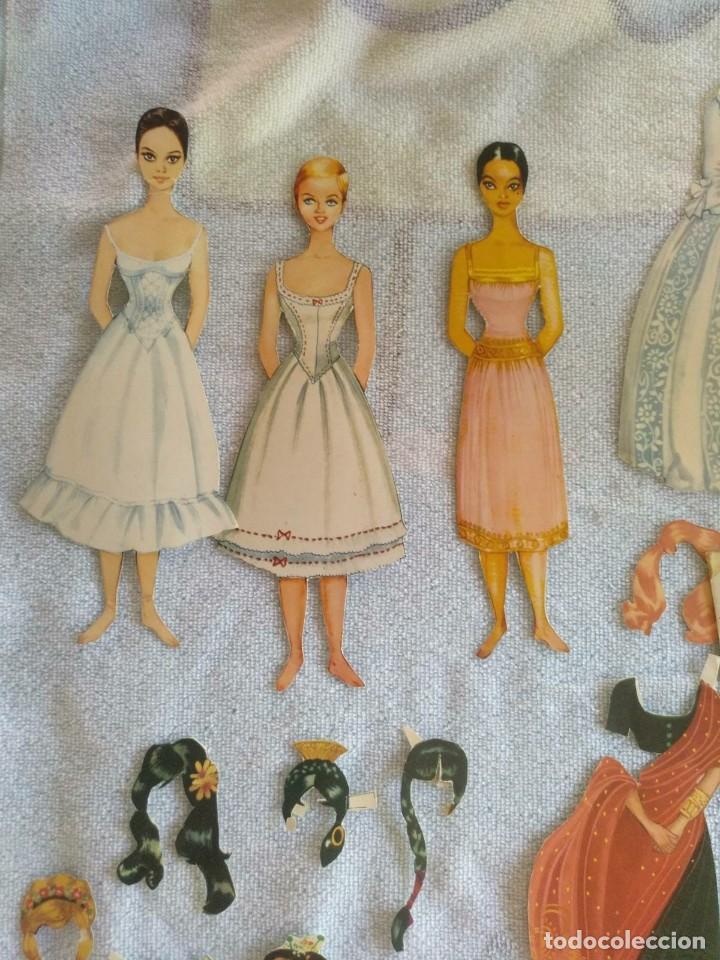 Coleccionismo Recortables: Recortables ,muchachas europeas ,orientales,ect - Foto 2 - 171016354
