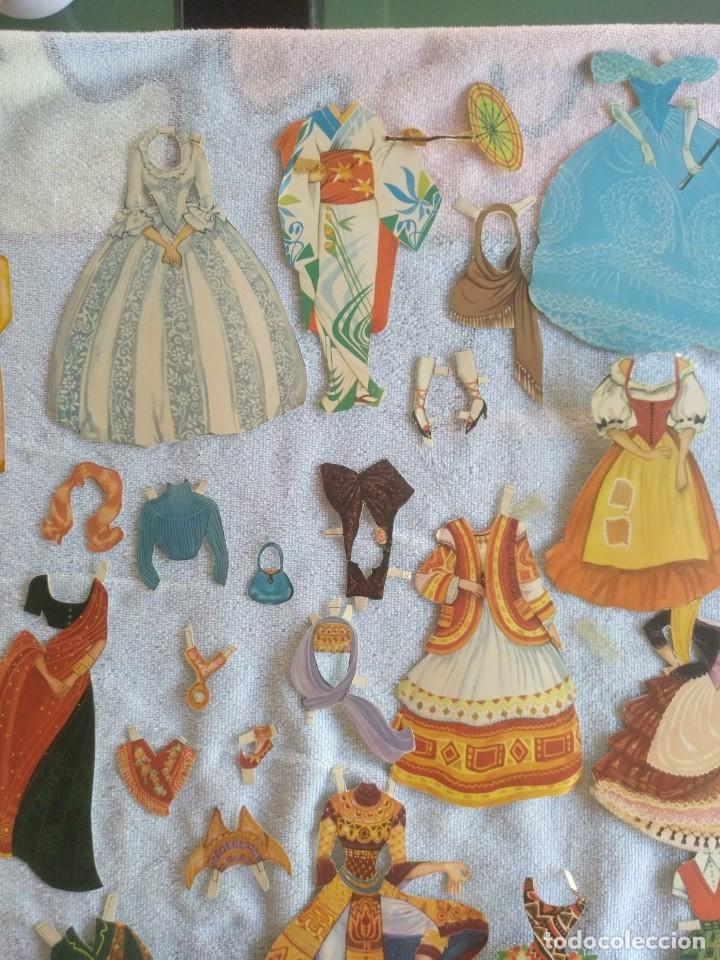 Coleccionismo Recortables: Recortables ,muchachas europeas ,orientales,ect - Foto 3 - 171016354