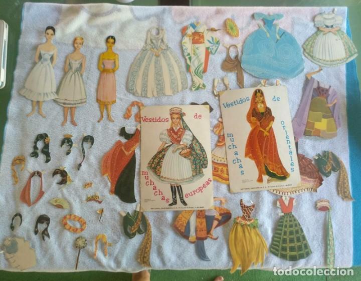 Coleccionismo Recortables: Recortables ,muchachas europeas ,orientales,ect - Foto 4 - 171016354