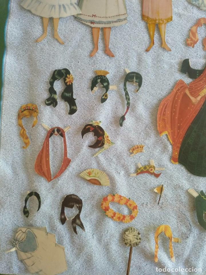 Coleccionismo Recortables: Recortables ,muchachas europeas ,orientales,ect - Foto 5 - 171016354