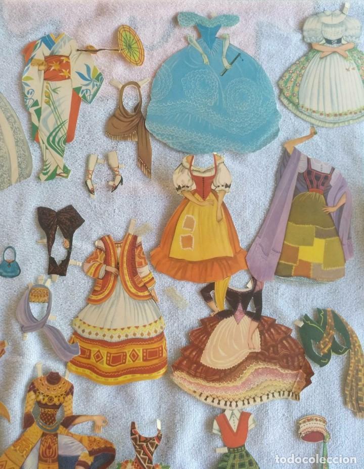 Coleccionismo Recortables: Recortables ,muchachas europeas ,orientales,ect - Foto 7 - 171016354