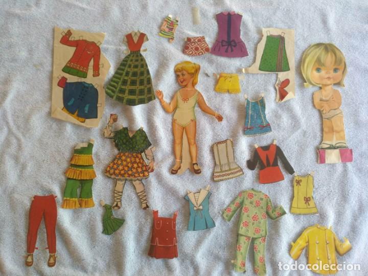 RECORTABLES ANTIGUO (Coleccionismo - Recortables - Muñecas)