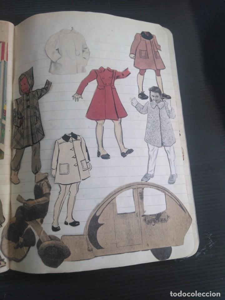 Coleccionismo Recortables: Antiguo cuaderno 40 hojas con recortables año 1940 - Foto 3 - 172336552
