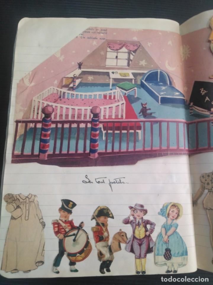 Coleccionismo Recortables: Antiguo cuaderno 40 hojas con recortables año 1940 - Foto 10 - 172336552