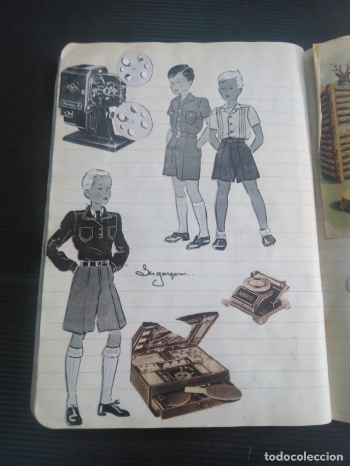 Coleccionismo Recortables: Antiguo cuaderno 40 hojas con recortables año 1940 - Foto 11 - 172336552