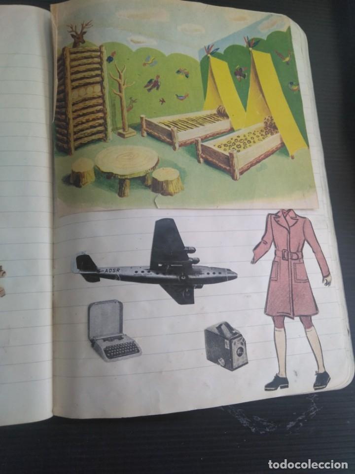 Coleccionismo Recortables: Antiguo cuaderno 40 hojas con recortables año 1940 - Foto 14 - 172336552
