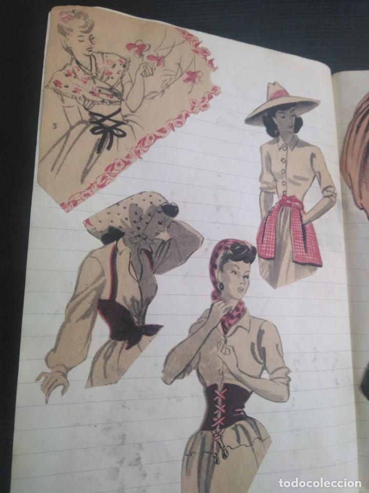 Coleccionismo Recortables: Antiguo cuaderno 40 hojas con recortables año 1940 - Foto 19 - 172336552