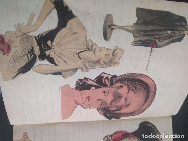 Coleccionismo Recortables: Antiguo cuaderno 40 hojas con recortables año 1940 - Foto 20 - 172336552