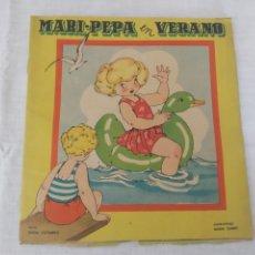 Coleccionismo Recortables: CUENTO RECORTABLE MARIPEPA EN VERANO + RECORTABLES DE ROPITA. Lote 172694883