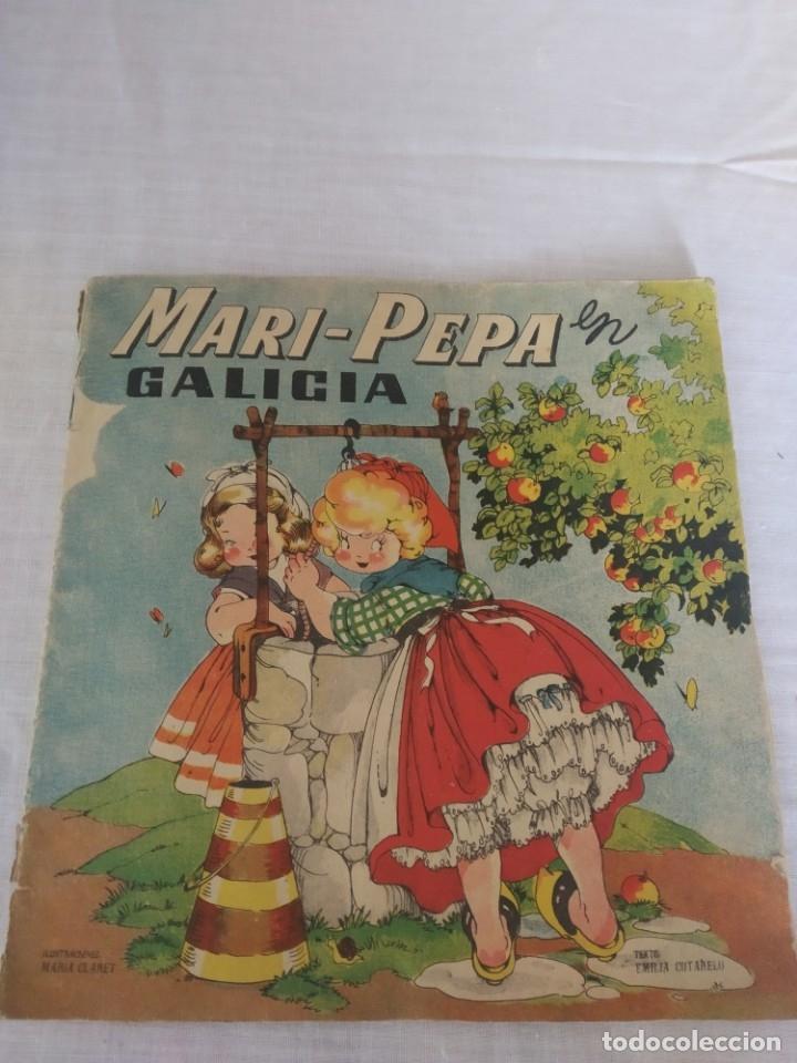 CUENTO RECORTABLE MARIPEPA EN GALICIA (Coleccionismo - Recortables - Muñecas)