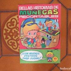 Coleccionismo Recortables: BELLAS HISTORIAS DE MUÑECAS RECORTABLES. Nº 1. 1977.. Lote 173269285