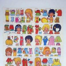 Collezionismo Figurine da Ritagliare: RECORTABLES MUÑECAS ALICIA 1 A 10. COMPLETA (IMA) IMA, 1975. OFRT. Lote 241531050