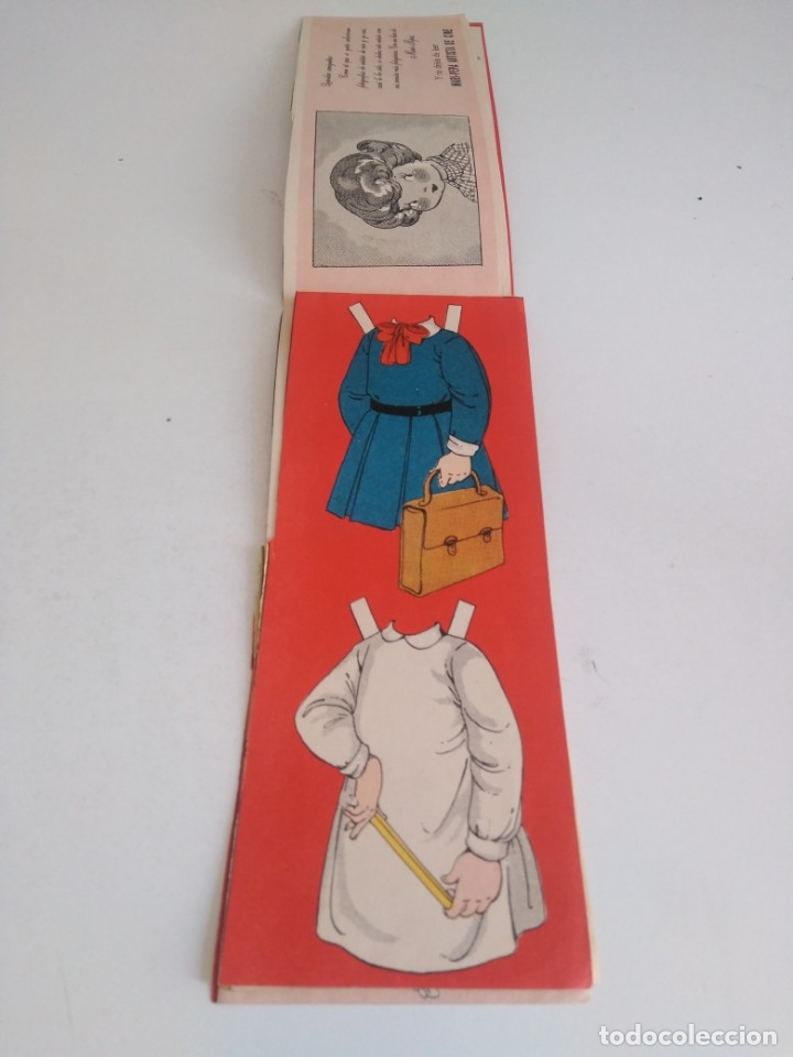 Coleccionismo Recortables: Recortable de muñecas Mari Pepa - Foto 4 - 174495433