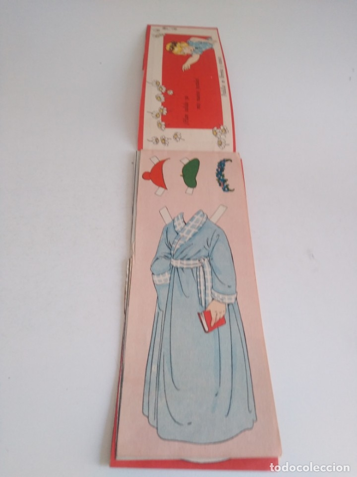 Coleccionismo Recortables: Recortable de muñecas Mari Pepa - Foto 5 - 174495433