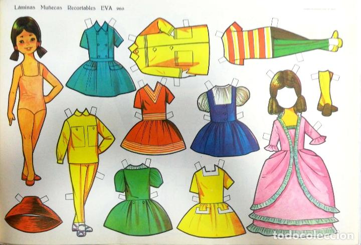 Coleccionismo Recortables: MUÑECAS RECORTABLES EVA. 50 LAMINAS SURTIDAS. Nº 951- 960. ED. VASCO AMERICANA. 1ª SERIE. 1962. - Foto 10 - 175503422