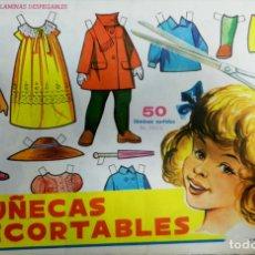 Coleccionismo Recortables: MUÑECAS RECORTABLES EVA. 50 LAMINAS SURTIDAS. Nº 951- 960. ED. VASCO AMERICANA. 1ª SERIE. 1962.. Lote 175503422