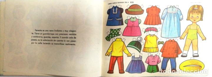 Coleccionismo Recortables: MUÑECAS RECORTABLES EVA. 50 LAMINAS SURTIDAS. Nº 831- 840. ED. VASCO AMERICANA. 1ª SERIE. 1964. - Foto 2 - 175504349