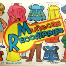 Coleccionismo Recortables: MUÑECAS RECORTABLES EVA. 50 LAMINAS SURTIDAS. Nº 831- 840. ED. VASCO AMERICANA. 1ª SERIE. 1964.. Lote 175504349