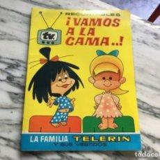 Coleccionismo Recortables: RECORTABLES ¡ VAMOS A LA CAMA! 1964. Lote 175565353