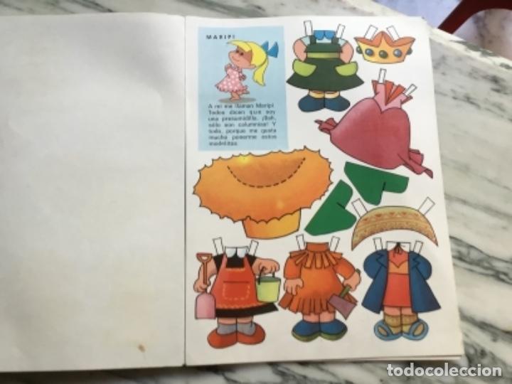 Coleccionismo Recortables: Recortables ¡ vamos a la cama! 1964 - Foto 3 - 175565353