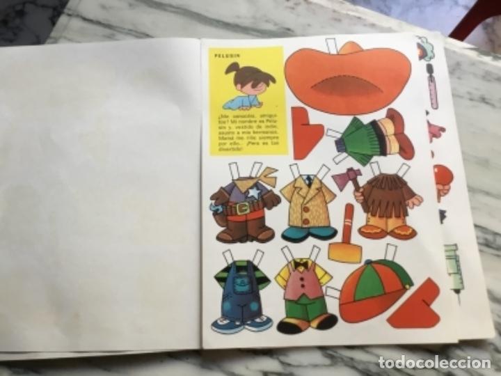 Coleccionismo Recortables: Recortables ¡ vamos a la cama! 1964 - Foto 4 - 175565353