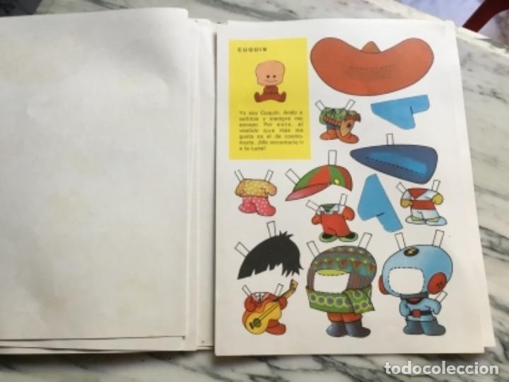 Coleccionismo Recortables: Recortables ¡ vamos a la cama! 1964 - Foto 6 - 175565353