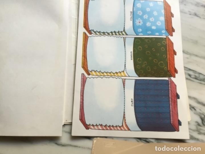 Coleccionismo Recortables: Recortables ¡ vamos a la cama! 1964 - Foto 7 - 175565353