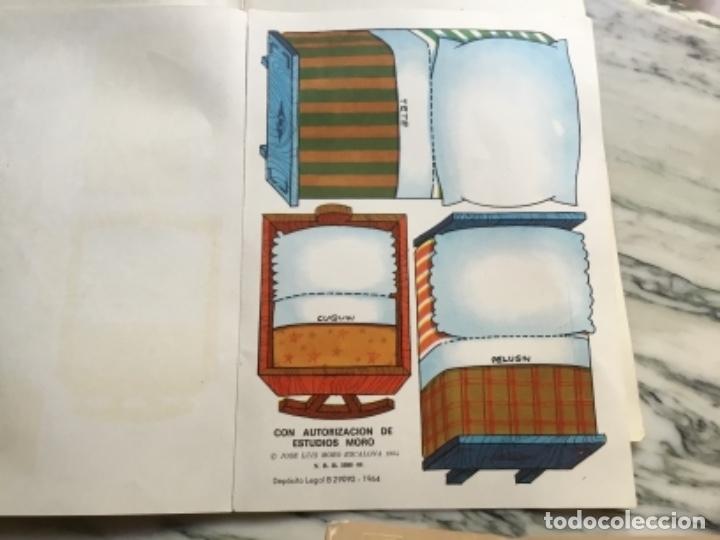 Coleccionismo Recortables: Recortables ¡ vamos a la cama! 1964 - Foto 8 - 175565353