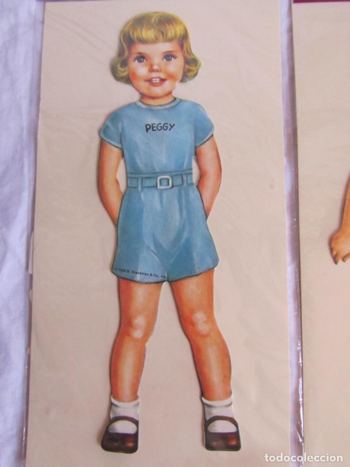 Coleccionismo Recortables: 4 recortables muñecas con vestidos Queen Holden 1986 Sin uso - Foto 5 - 175716148