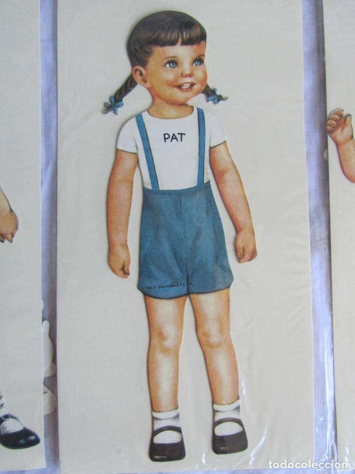 Coleccionismo Recortables: 4 recortables muñecas con vestidos Queen Holden 1986 Sin uso - Foto 7 - 175716148