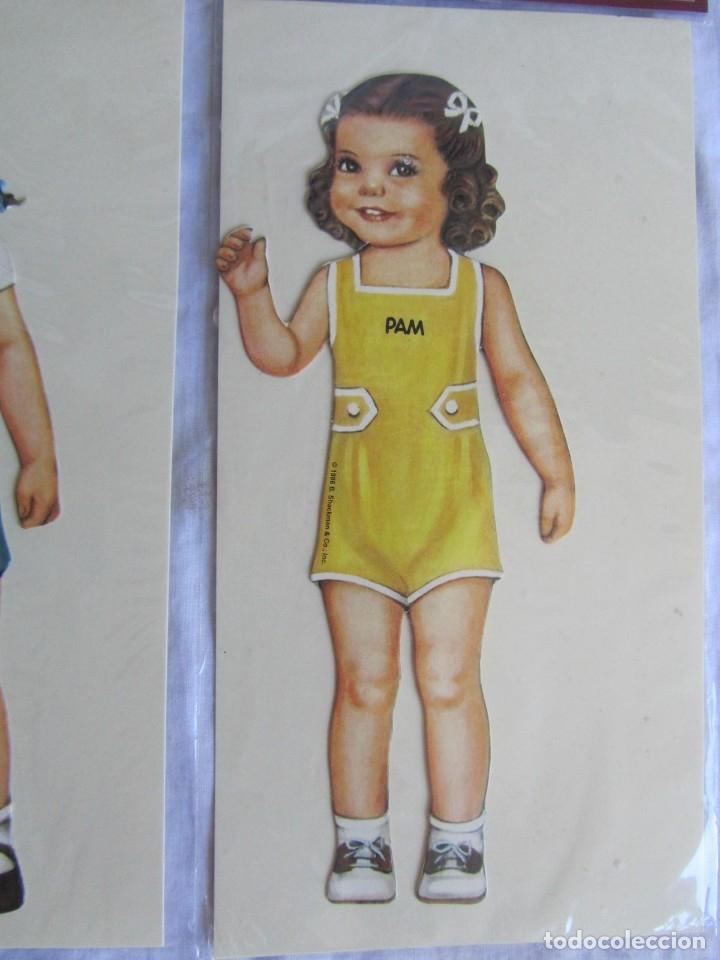 Coleccionismo Recortables: 4 recortables muñecas con vestidos Queen Holden 1986 Sin uso - Foto 8 - 175716148