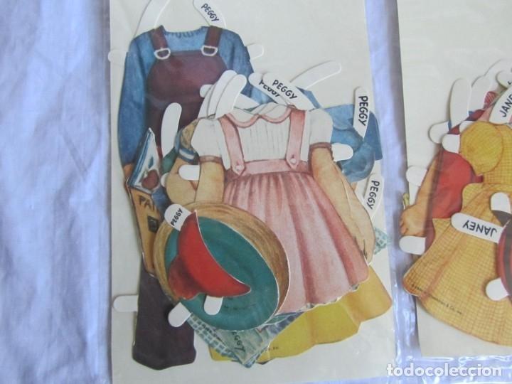 Coleccionismo Recortables: 4 recortables muñecas con vestidos Queen Holden 1986 Sin uso - Foto 11 - 175716148