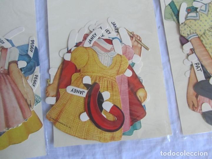 Coleccionismo Recortables: 4 recortables muñecas con vestidos Queen Holden 1986 Sin uso - Foto 12 - 175716148