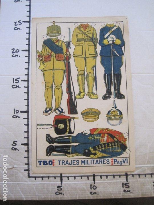 Coleccionismo Recortables: RECORTABLE MUÑECA-AÑOS 20-TBO-TRAJES MILITARES-PAG VI-ORIGINAL-VER FOTOS-(V-17.575) - Foto 6 - 175778313