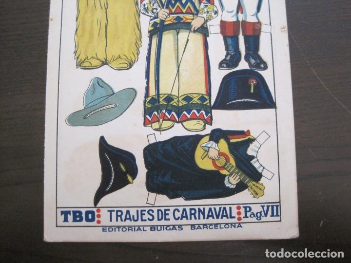 Coleccionismo Recortables: RECORTABLE MUÑECA-AÑOS 20-TBO-TRAJES DE CARNAVAL-PAG VII-ORIGINAL-VER FOTOS-(V-17.576) - Foto 4 - 175778382