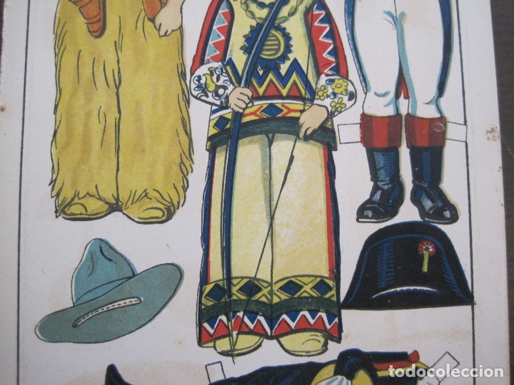Coleccionismo Recortables: RECORTABLE MUÑECA-AÑOS 20-TBO-TRAJES DE CARNAVAL-PAG VII-ORIGINAL-VER FOTOS-(V-17.576) - Foto 5 - 175778382