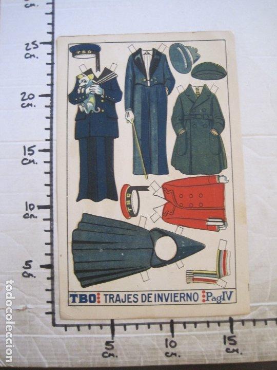 Coleccionismo Recortables: RECORTABLE MUÑECA-AÑOS 20-TBO-TRAJES DE INVIERNO-PAG IV-ORIGINAL-VER FOTOS-(V-17.577) - Foto 6 - 175778449