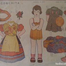Coleccionismo Recortables: CONSTRUCCIONES EL NIÑO COLECCION 25 Nº 7 CONCHITA 48X34,5CM. Lote 175786013